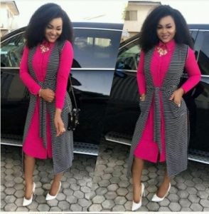 Mercy Aigbe-Gentry Goes To Church After Alleged Assault