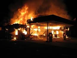 Bullion Van Loaded With Millions Of Naira Catches Fire In Lagos