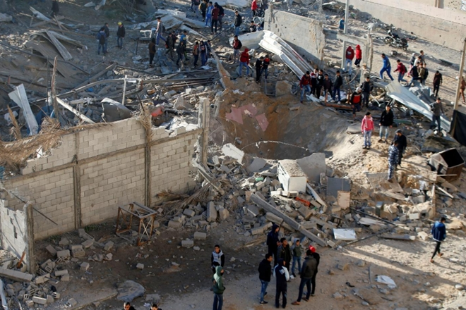 Israel Launches Fresh Airstrikes In Gaza Strip