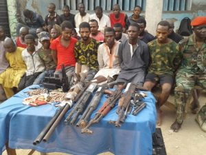 Police Smash Notorious Robbery, Kidnap Gang, Arrest 28