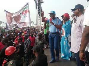 Translate massive turnout at PDP campaign rallies to votes, Okowa urges Deltans