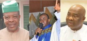 Imo: What Owerri residents did to Fr. Mbaka as he arrived for Uzodinma's swearing-in